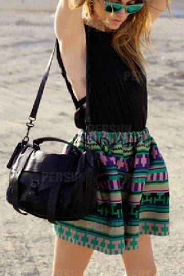 Retro Matte Leather Crossbody Bag [FPB620] - PersunMall.com
