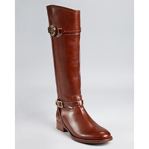 Tory Burch Almond Calista Riding Boots - Sale
