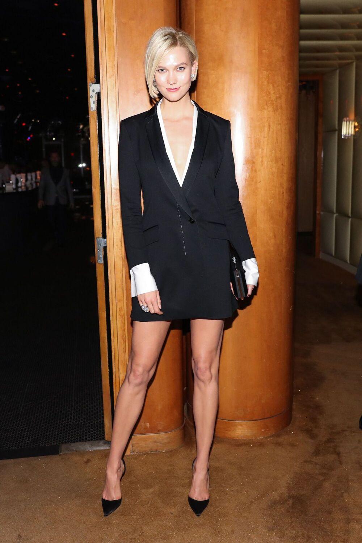 Karlie Kloss Tuxedo Dress Met Gala 2017 Wheretoget
