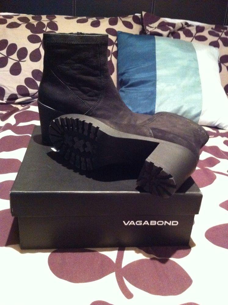 Vagabond Grace Nubuck Boots Brand New Size 5   eBay