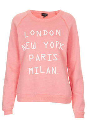 Cities Tri Wool Sweat - New In This Week  - New In  - Topshop USA