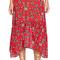 For love & lemons pia midi skirt in red from revolve.com