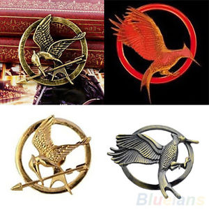 Fantastic The Hunger Games Mockingjay Bird Pin Badge Brooch Clothes Accessories | eBay