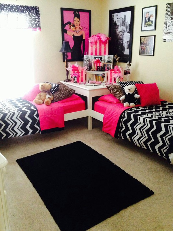 Bag: bedding, bedding, white, bedroom, twins, pink, girly ... on Teenager:_L_Breseofm= Bedroom Ideas  id=15548