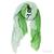 Tilo Gradation Scarf in Green / TheFashionMRKT