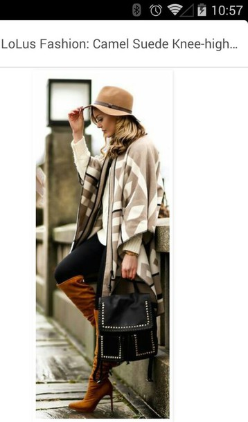 bag hat coat