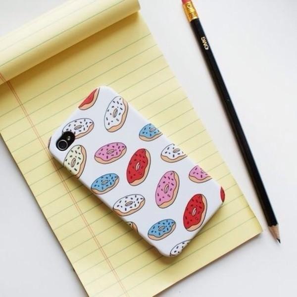 jewels donut iphone case