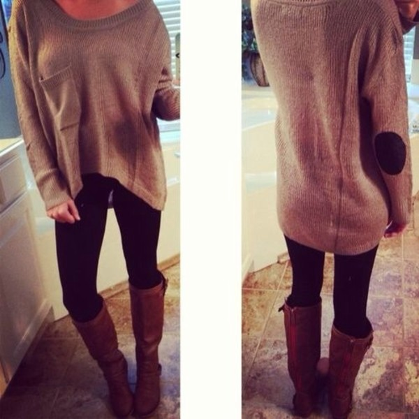 shoes boots sweater