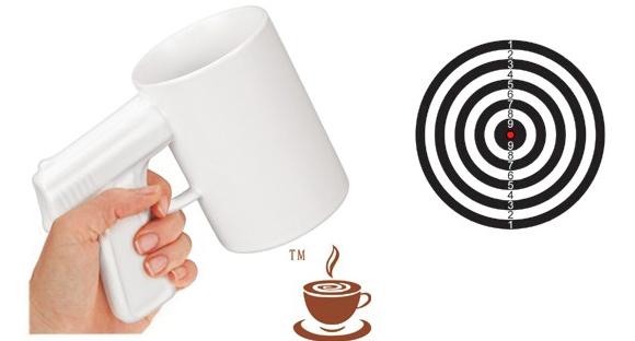 INFMETRY:: Handgun Coffee Cup - Mugs - Home&Decor