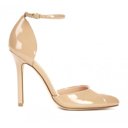 Sole Society - Almond toe pumps - Giselle - Adobe