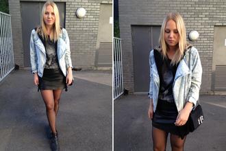 bag shoes jacket sweater elenita skirt tank top