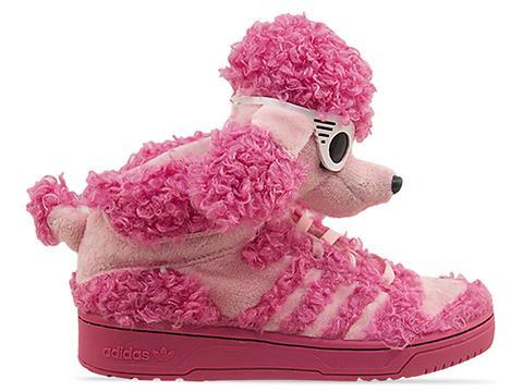 Adidas Originals X Jeremy Scott JS Poodle in Pink at Solestruck.com