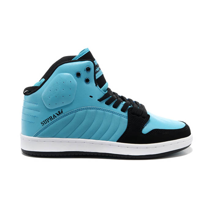 Blue and Black White Mid Top Stevie Williams Men Supras S1W Sneakers