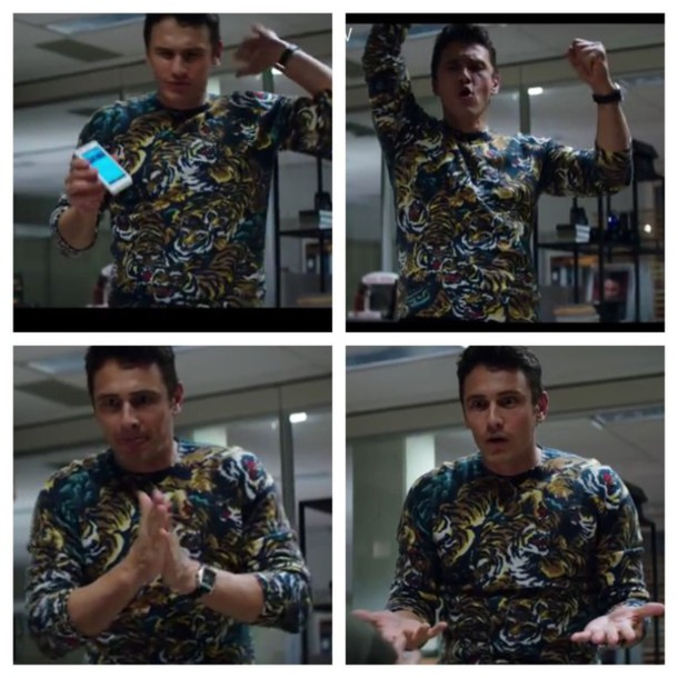 sweater the interview tiger sweater james franco
