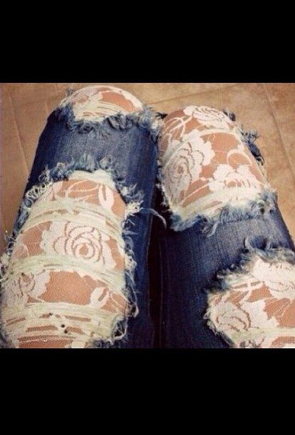 jeans pants ripped jeans