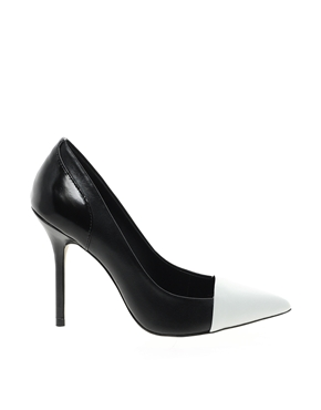 River Island | River Island Oracle Toe Cap Court Shoes at ASOS