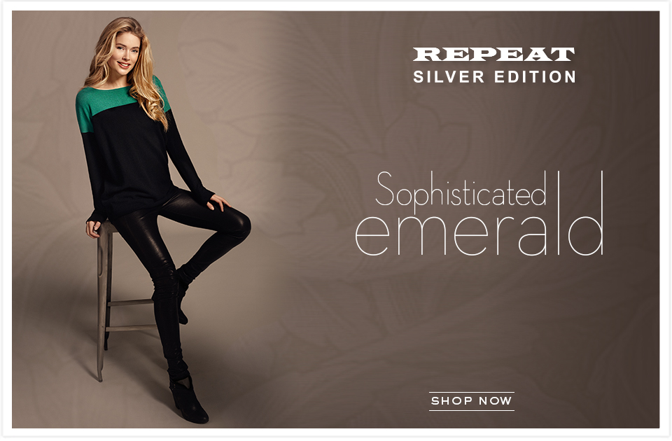Cashmere Clothing From Repeat Cashmere - Soft, Elegant, Luxurious  | Repeat Cashmere