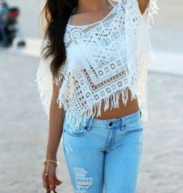 tank top girly clothes summer cute sweet pretty white