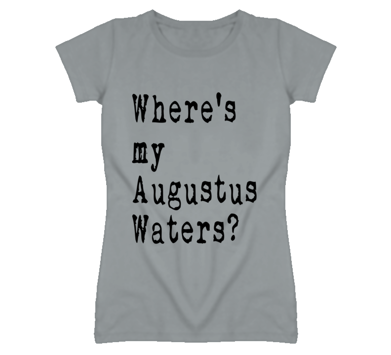 Where's My Augustus Waters Cute Movie Graphic T Shirt