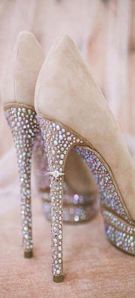 shoes sparkly heels