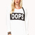 Relaxed Oops Sweatshirt | FOREVER21 - 2000050624