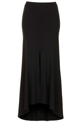 Split Godet Maxi Skirt - Topshop USA