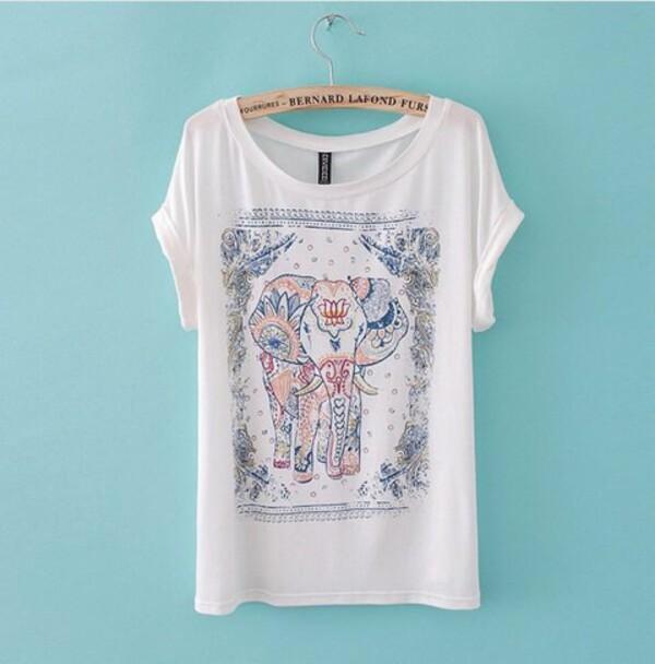 t-shirt elephant shirt