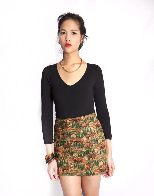 Forest skirt / FOREST KRUMP