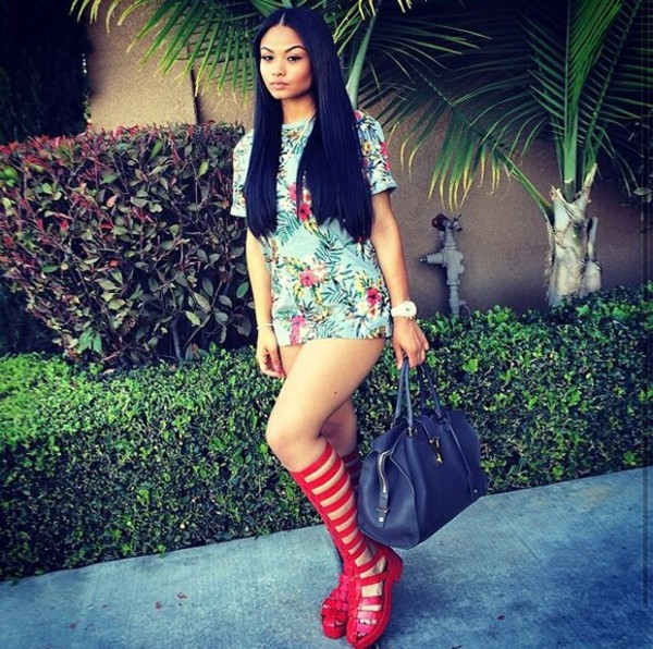 shirt india westbrooks india love india westbrooks the westbrooks crop tops red sandals long hair weave tropical watch make-up handbag bag shoes Red low heel sandals