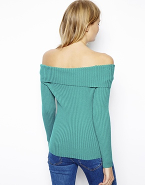 ASOS | ASOS Sweater With Off The Shoulder Detail at ASOS