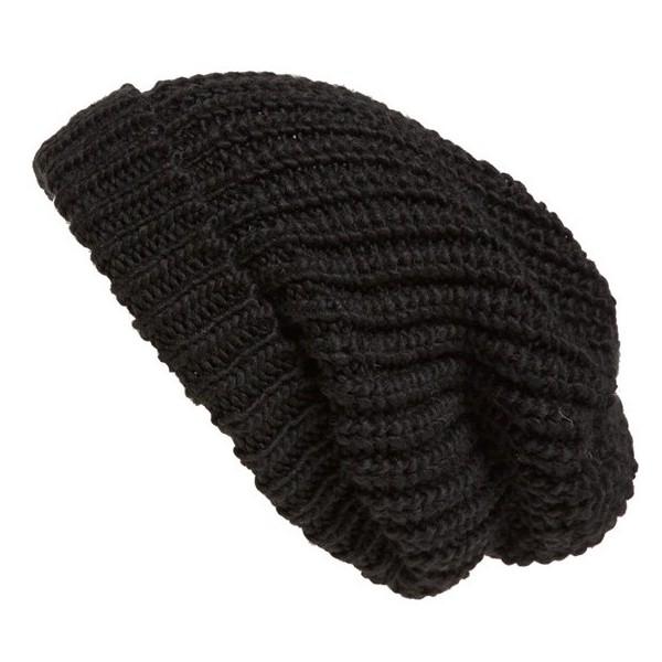 Tarnish Chunky Knit Beanie - Polyvore
