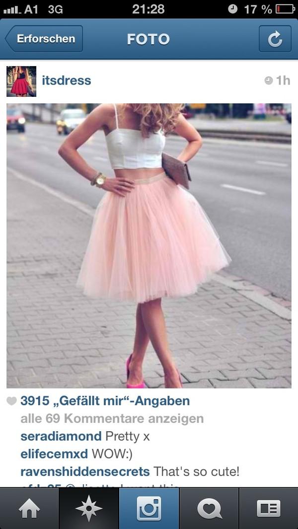 dress pink white dress