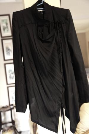 Ann DEMEULEMEESTER Light Spring Structured Jacket FR36 XS Worn Multi Ways   eBay