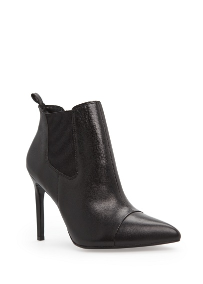 MANGO - Accessories - Shoes - Elasticated panel leather ankle boots