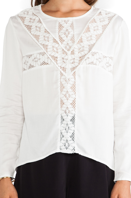 Three of Something блузка tallgrass в цвете Белый | REVOLVE