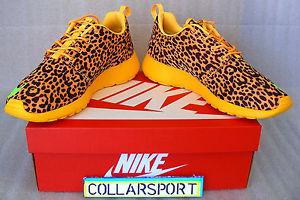 Nike Roshe Run FB Leopard Size 9 Deadstock w Receipt | eBay