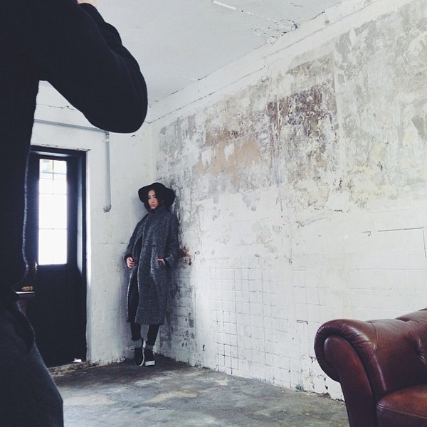 coat stylenanda grey