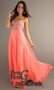 2013 NEW Long Chiffon Formal Prom Party Bridesmaid Evening Dresses Size 6 16 | eBay
