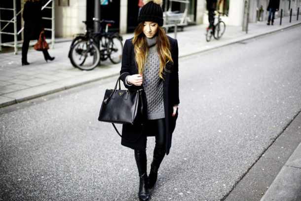 flirting with fashion blogger coat sweater pants shoes jewels hat