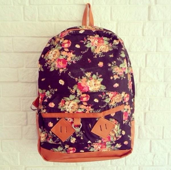 bag floral