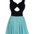 Rella Bow Skater Dress | Outfit Made