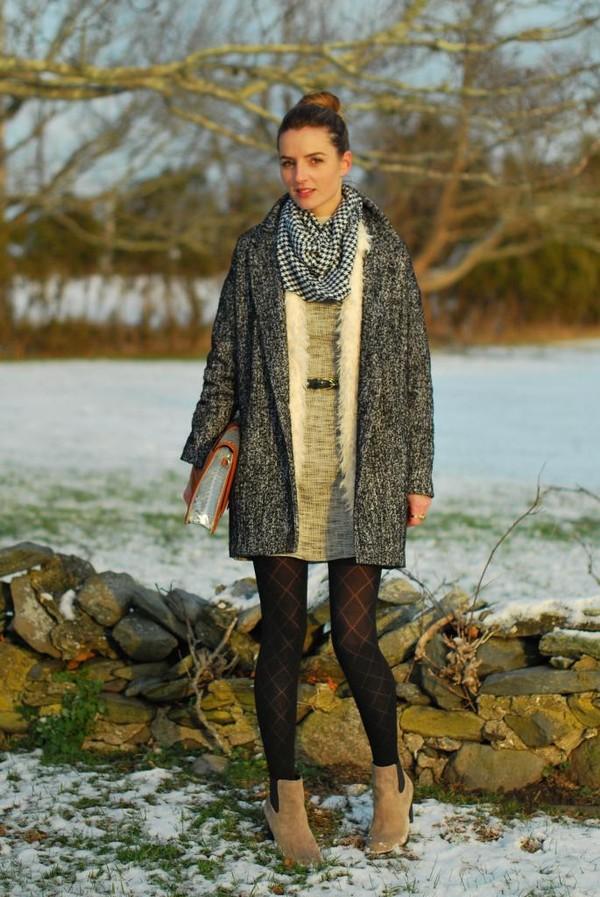 jess style rules bag jacket scarf shoes dress coat