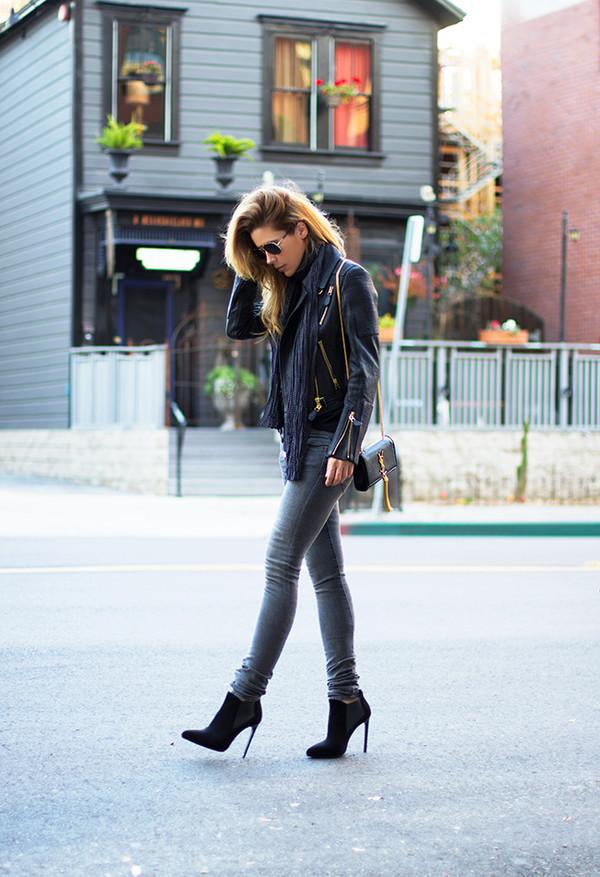 sunglasses scarf jacket bag t-shirt shoes