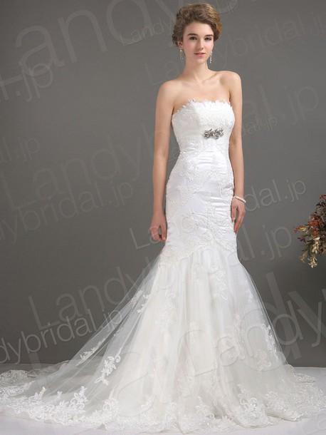 dress ウェディングドレス マーメイド ビスチェ