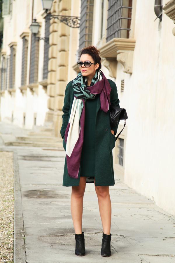 irene's closet coat dress scarf bag shoes