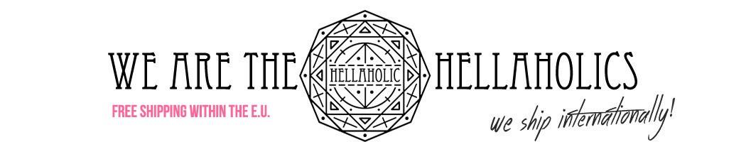 Hellaholic                  - Bold Skull Cross Necklace