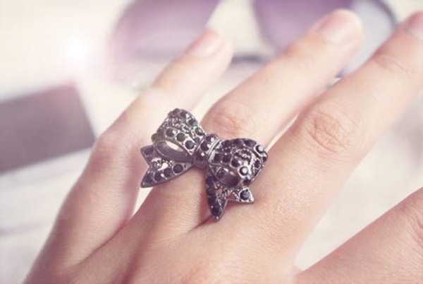 jewels ring bows jewelry rings