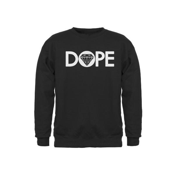 dope diamond Sweatshirt - Polyvore