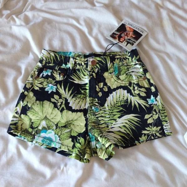 shorts High waisted shorts tumblr tumblr girl grunge hippie hipster