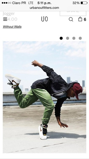 shoes nikes sneakers white color/pattern menswear urban menswear mens sportswear mens cargo pants mens high top sneakers